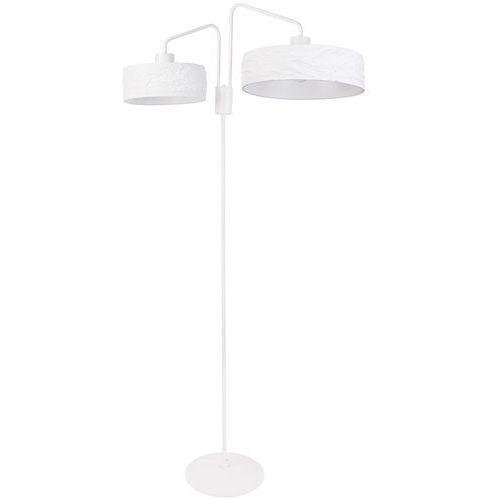 Sigma Kioto 50110 lampa stojąca podłogowa 2x60W E27 biała (5902846813132)
