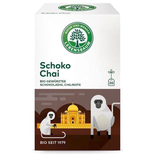Herbata Czekoladowa Chai Ekspresowa BIO 20 x 2 g Lebensbaum, 4012346204703