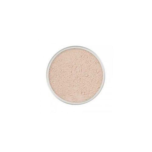 Kryolan hd micro finish powder, lekki puder z proteinami jedwabiu, 20g