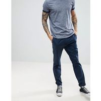 Hollister slim fit chinos in navy - navy