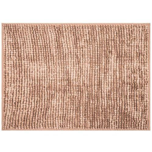 AmeliaHome Dywanik łazienkowy Bati jasnobrązowy, 70 x 120 cm, 70 x 120 cm
