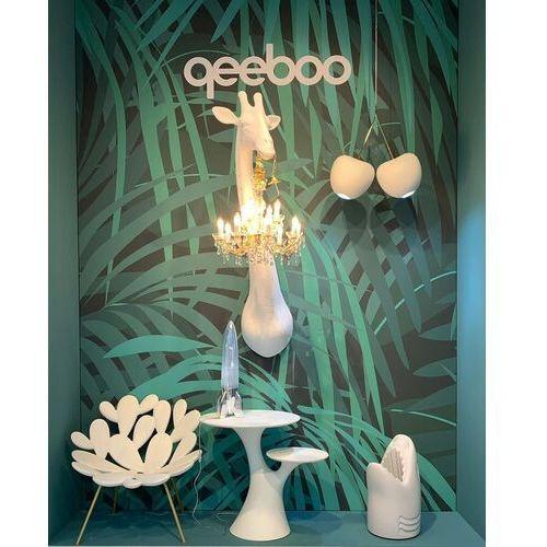Qeeboo fotel filicudi butelkowa zieleń- mosiądz 17001bg-br