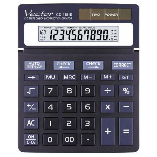 Kalkulator Vector CD 1181, kup u jednego z partnerów