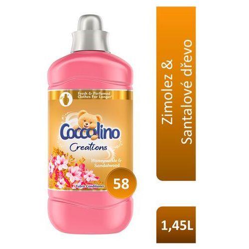 Unilever Coccolino creations płyn do płukania tkanin honeysuckle & sandalwood 1.45l (58 prań) (8710447283080)