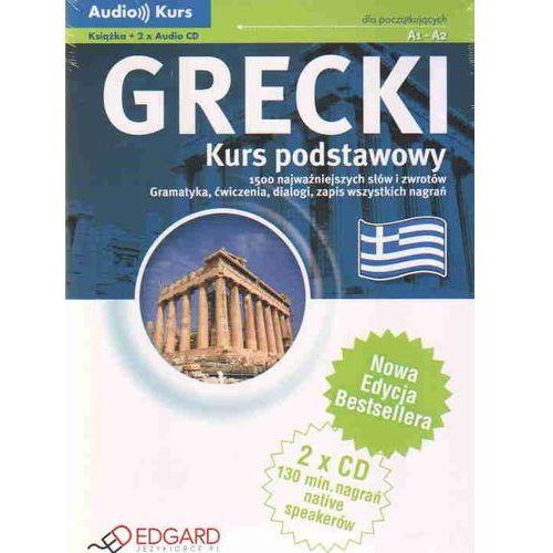 Grecki - Kurs Podstawowy A1-A2. Audio Kurs, oprawa kartonowa