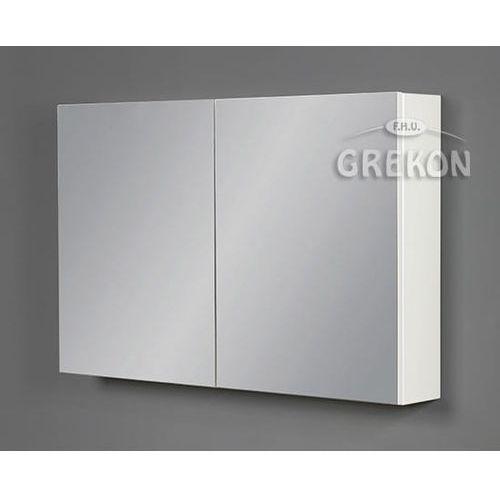 Szafka wisząca z lustrem 100x65 seria Fokus B