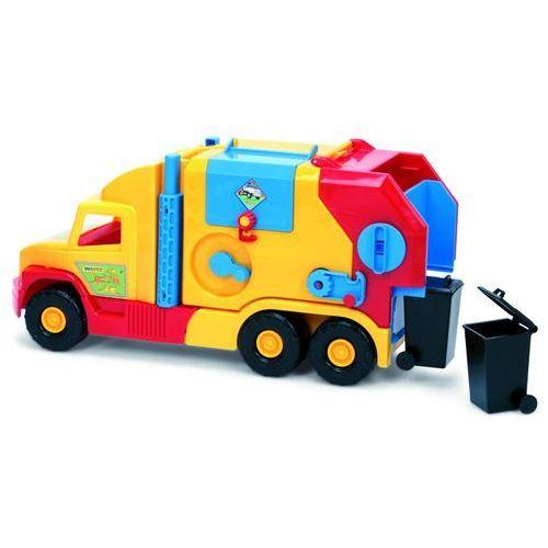 Super truck - krótka śmieciarka marki Wader
