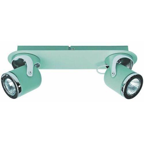Sufitowa LAMPA regulowana APRIL 5034 Rabalux metalowa OPRAWA reflektorki miętowe chrom (5998250350349)