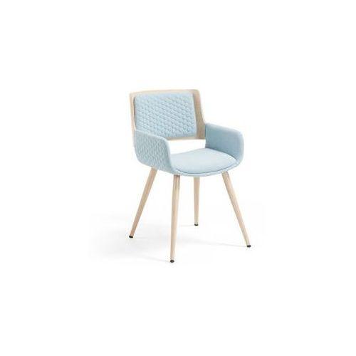Laforma :: krzesło z podłokietnikami andre niebieskie