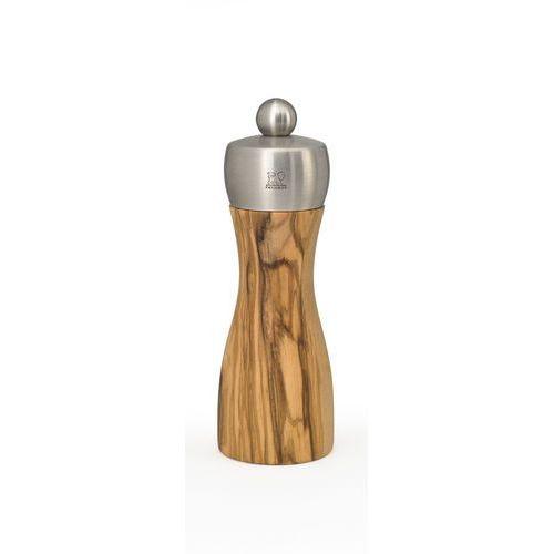 Młynek do soli Peugeot Fidji Olivier 15 cm, drewno oliwne (PG-33811), PG-33811