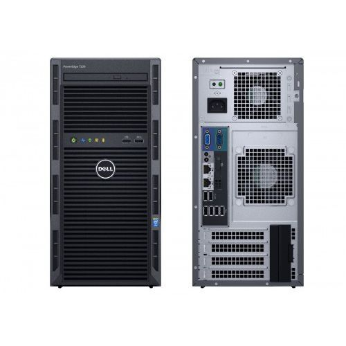 Serwer Dell SERWER T130 E3-1220v5 8G B 2x1TB H330 DVDRW 3Y - T130 - T130 Darmowy odbiór w 21 miastach!, T130