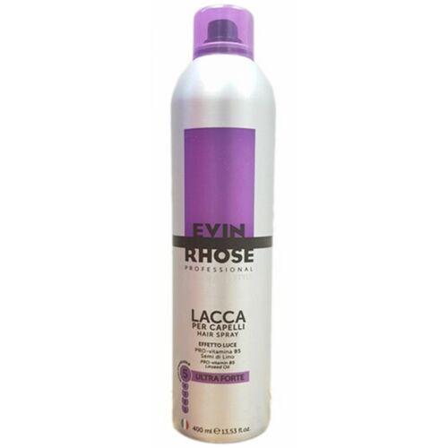lacca hair spray ultra forte ultra mocny lakier do włosów marki Evin rhose