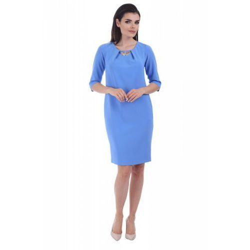 Sukienka model m 674b blue, Margo collection