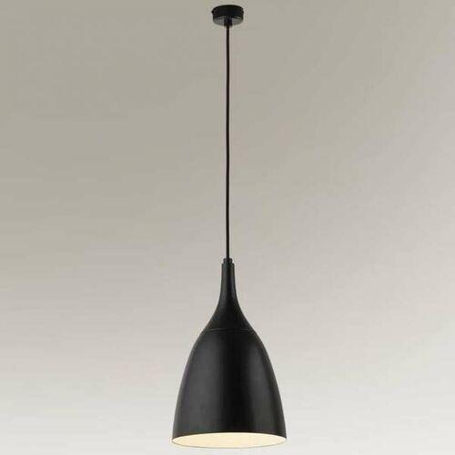 Industrialna LAMPA wisząca NAGOJE 7834 Shilo okrągła OPRAWA metalowa ZWIS loftowy czarny