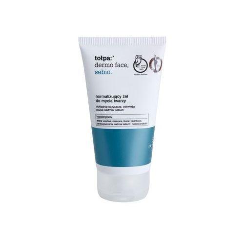 dermo face sebio żel oczyszczający do skóry tłustej (hypoallergenic) 150 ml marki Tołpa