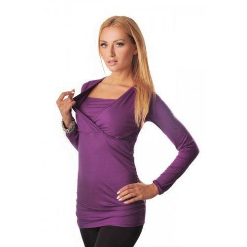 Tunika ciążowa KRAYA LILA, kolor fioletowy
