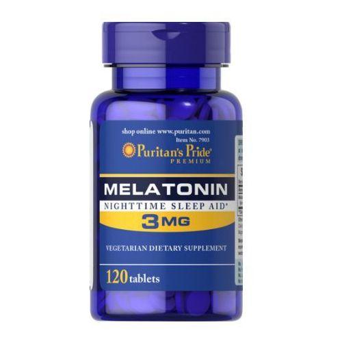 Puritan's Pride Melatonina 3mg 120 tabl. - produkt farmaceutyczny