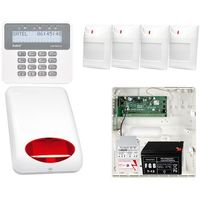 Satel set Alarm do domu biura satel perfecta 16 4xpir + manipulator prf-lcd + akcesoria