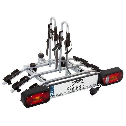 Amos Platforma bagażnik na 3 rowery rowerowy na hak tytan 13pin