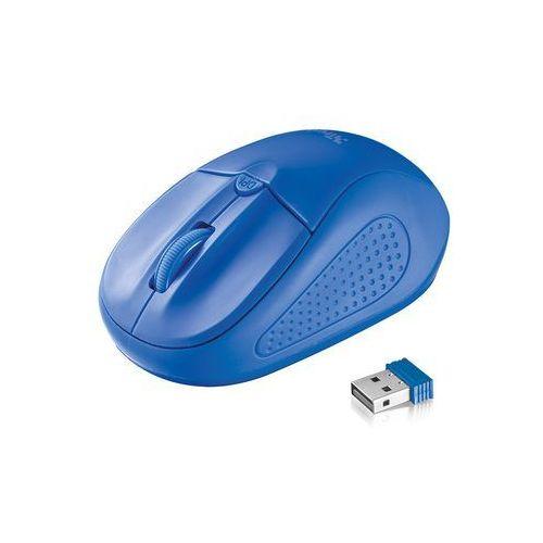 Trust Mysz primo wireless mouse, niebieska (20786) darmowy odbiór w 21 miastach! (8713439207866)