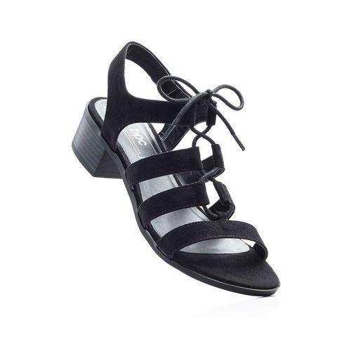 Sandały bonprix czarny, w 5 rozmiarach