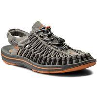 Sandały KEEN - Uneek Flat 1016901 Gargoyle/Burnt Orange