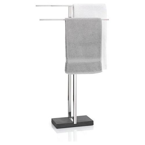 - stojak na ręczniki - menoto polerowany - srebrny marki Blomus