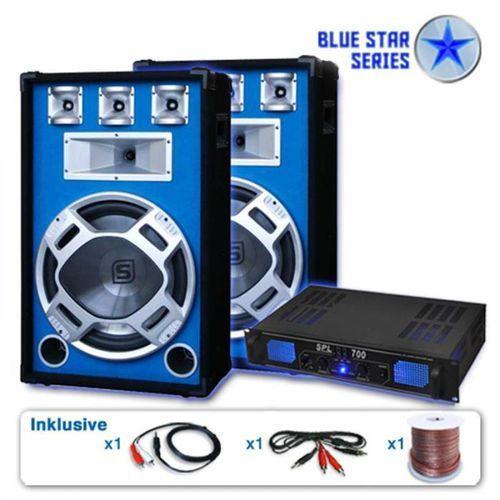 """Skytronic Zestaw PA Blue Star z serii """"Beatstar"""" 2000W (4260195339798)"""