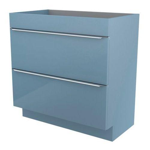 Szafka pod umywalkę GoodHome Imandra stojąca 80 cm niebieska, kolor niebieski
