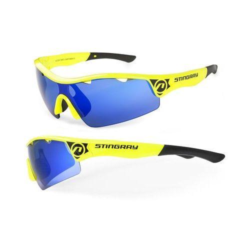 Accent Okulary stingray żółte, 2 pary soczewek