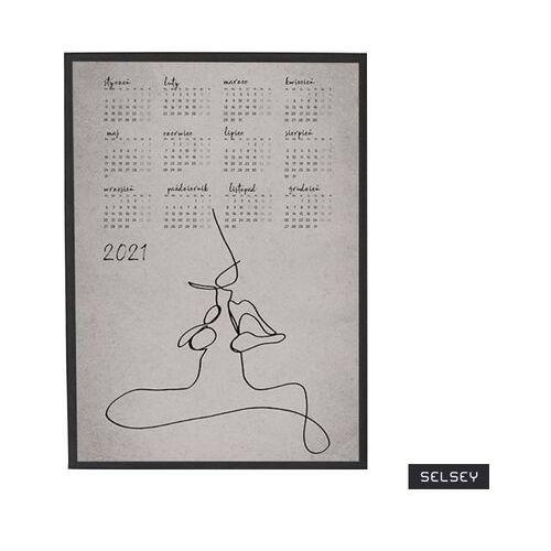 SELSEY Kalendarz Yumian 50x70 cm z wyborem ramy (5903025471990)