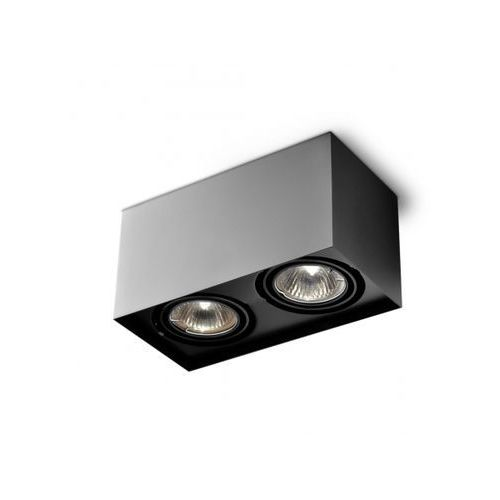 Lampa sufitowa SQUARES 50x2 Czarna 45812-0000-U8-PH-02