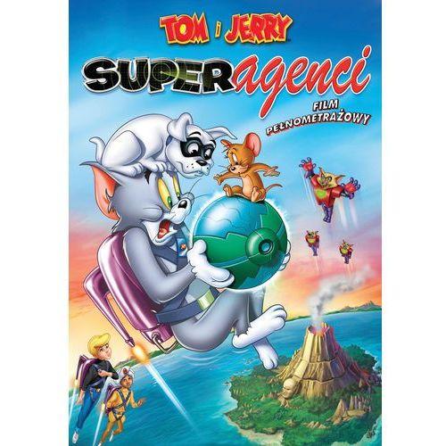 Tom i jerry: superagenci (dvd) marki Galapagos