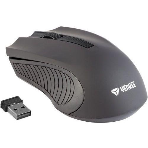 Yenkee mysz bezprzewodowa monaco czarna (yms 2015bk) (8590669176939)