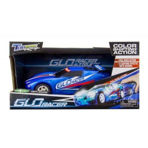 Pojazd pull back światła dżwięk - Glow racer
