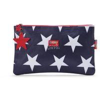 Wielofunkcyjny portfel granatowy w gwiazdy Penny Scallan