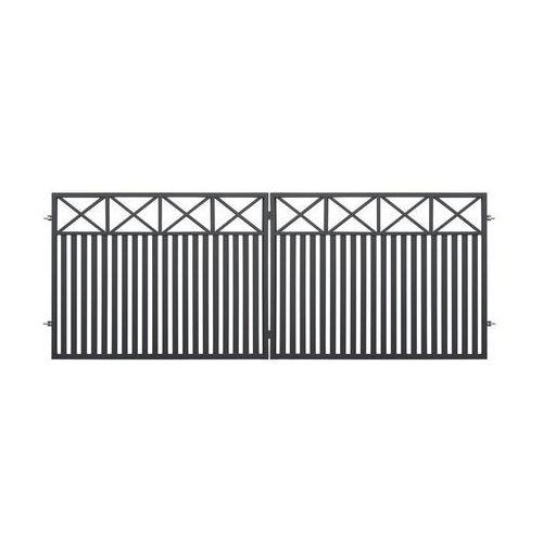 Brama dwuskrzydłowa BOSTON 400 x 150 cm POLBRAM (5901122310594)