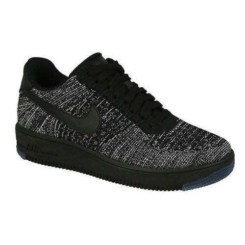 Nike Buty air force 1 flyknit low 820256 007 - czarny