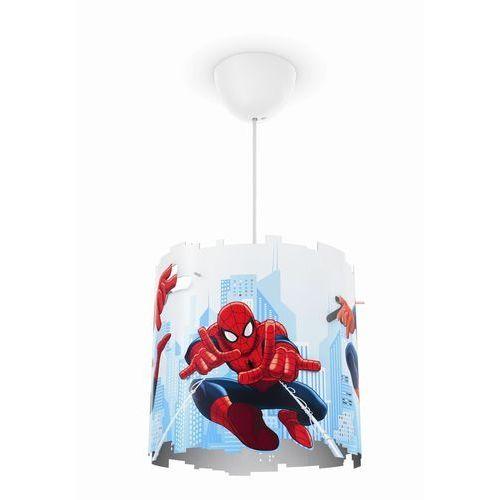Philips 71751/40/16 - Lampa wisząca dziecięca DISNEY SPIDER-MAN 1xE27/23W/230V