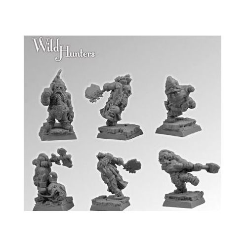Scibor 28FM0102 - Wild Hunters set2 28mm