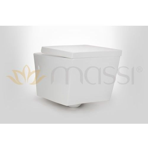 Miska wisząca  inglo + deska wolnoopadająca pp (msm-2389pp) marki Massi