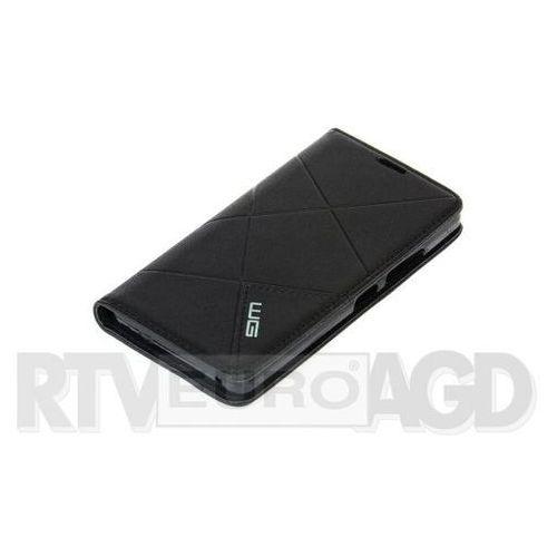 Etui WG Cross Flipbook do Samsung Galaxy J7 (2016) Czarny z kategorii Futerały i pokrowce do telefonów