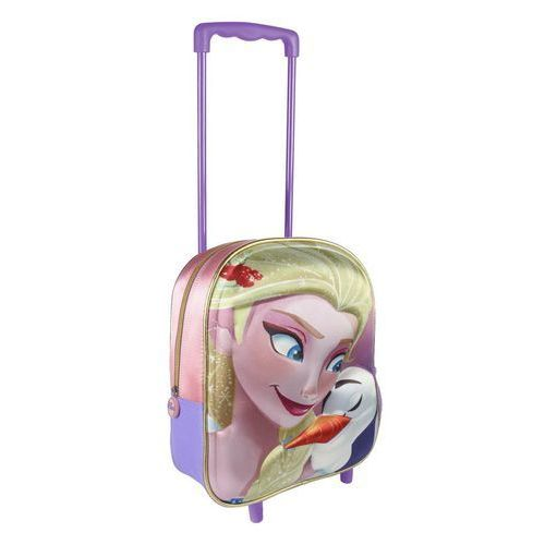 Plecak na kółkach 3D Frozen - Kraina Lodu 31 cm