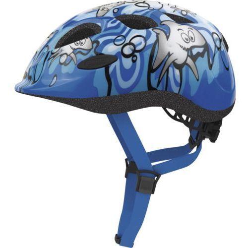 Abus Smiley 2.0 chłopięcy kask rowerowy, niebieski, 45-50 cm (4003318725746)