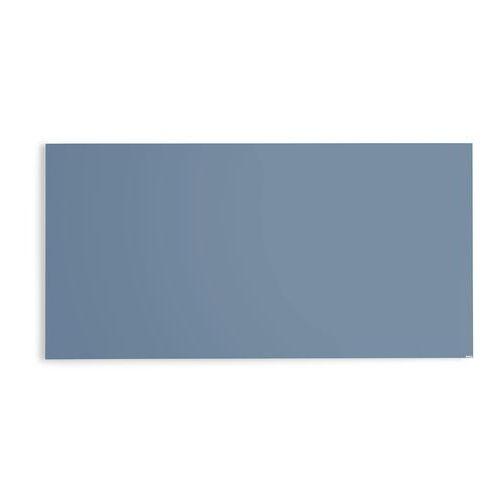 Szklana tablica suchościeralna, 2000x1000 mm, szaroniebieski, 3803624