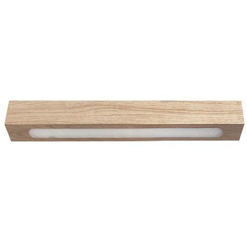 futura lux wood low 30 32948 plafon lampa sufitowa 1x6w led dąb marki Sigma