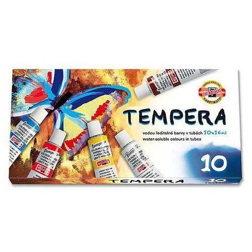 Farby tempera Koh-I-Noor 10kol. 16ml 162548 (8593540015143)