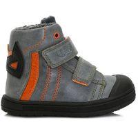 Ponte 20 buty za kostkę chłopięce 23 pomarańcz/szary (8595642000102)
