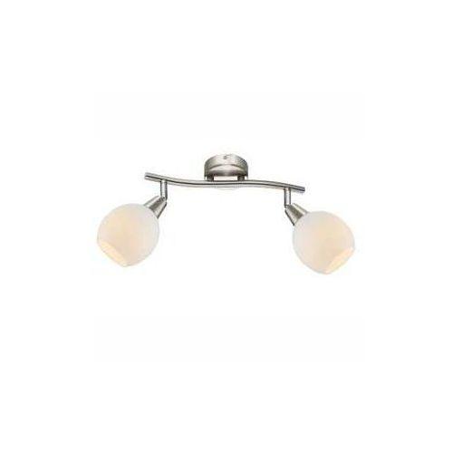 Plafon lampa oprawa sufitowa Globo Elliott 2x3W E14-LED satyna/matowy chrom 54351-2