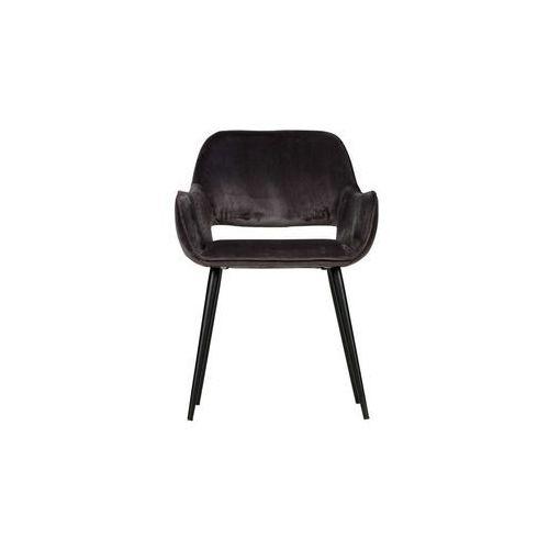 krzesło jelle szare set of 2 375466-g marki Woood